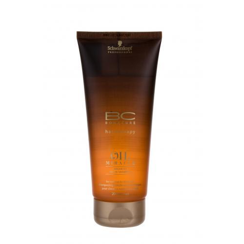 Schwarzkopf Professional BC Bonacure Oil Miracle Argan Oil 200 ml vyživujúci šampón pre normálne až husté vlasy pre ženy