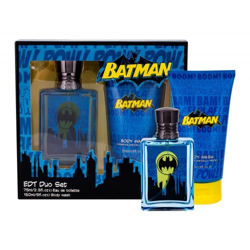 DC Comics Batman darčeková kazeta pre deti toaletná voda 75 ml + sprchovací gél 150 ml