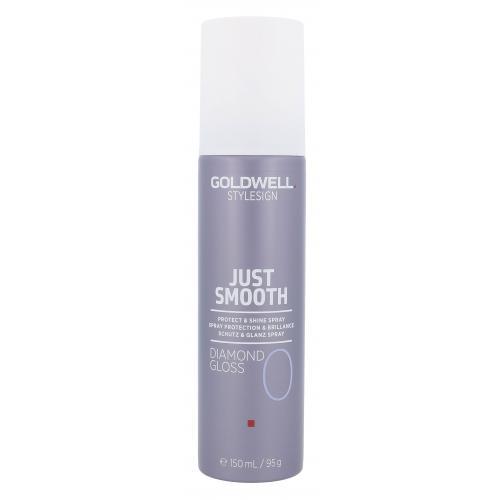 Goldwell Style Sign Just Smooth Diamond Gloss 150 ml sprej pre ochranu a lesk vlasov pre ženy