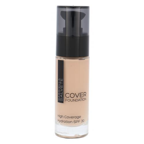 Gabriella Salvete Cover Foundation SPF30 30 ml vysoko krycí make-up pre ženy 104 Light Sand