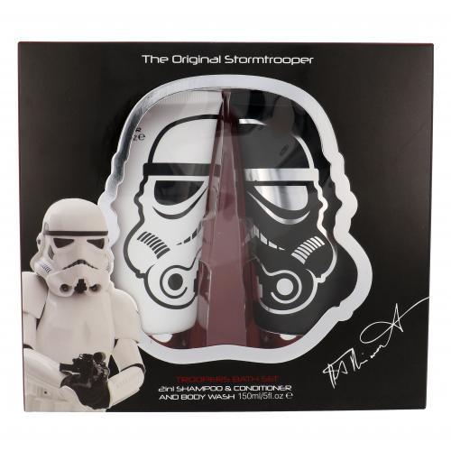 Star Wars Stormtrooper darčeková kazeta pre deti šampón 2 v 1 150 ml + sprchovací gél 150 ml