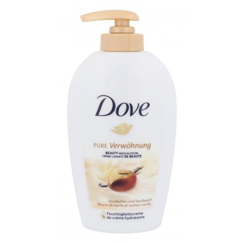 Dove Purely Pampering Shea Butter 250 ml tekuté mýdlo na ruky s bambuckým maslom pre ženy
