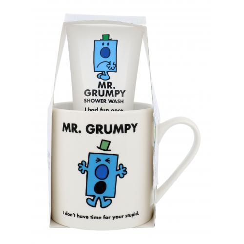 Mr. Grumpy Mr. Grumpy darčeková kazeta pre deti sprchovací gél 100 ml + hrnček