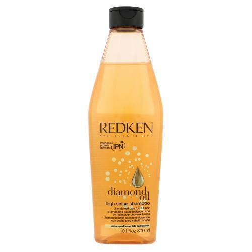 Redken Diamond Oil High Shine 300 ml šampón pre poškodené vlasy pre ženy