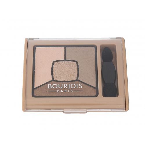 BOURJOIS Paris Smoky Stories Quad Eyeshadow Palette 3,2 g paletka očných tieňov pre ženy 13 Taupissime