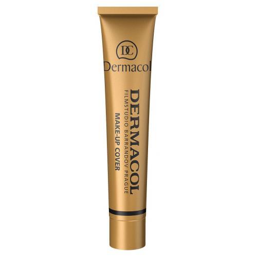 Dermacol Make-Up Cover SPF30 30 g vodeodolný extrémne krycí make-up poškodená krabička pre ženy 208