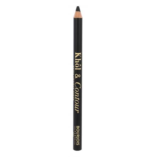 BOURJOIS Paris Khol & Contour 1,2 g dlhotrvajúca ceruzka na oči pre ženy 002 Ultra Black