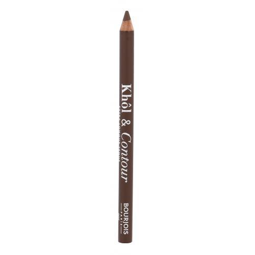 BOURJOIS Paris Khol & Contour 1,2 g dlhotrvajúca ceruzka na oči pre ženy 005 Choco-lacté