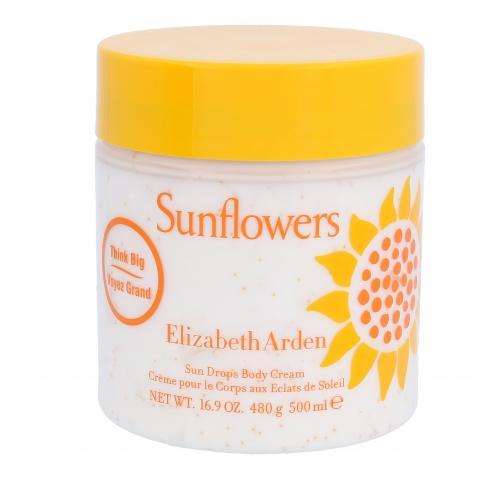 Elizabeth Arden Sunflowers 500 ml telový krém pre ženy