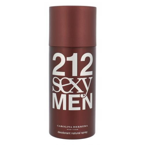 Carolina Herrera 212 Sexy Men 150 ml dezodorant deospray pre mužov
