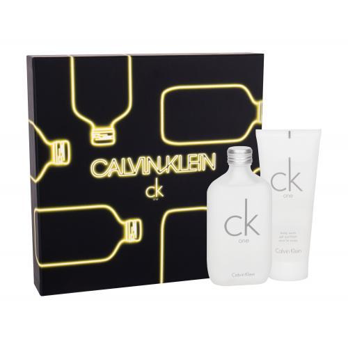 Calvin Klein CK One darčeková kazeta unisex toaletná voda 100 ml + sprchovací gél 100 ml