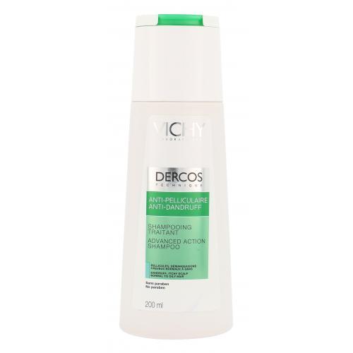 Vichy Dercos Anti-Dandruff Advanced Action 200 ml šampón proti lupinám pre ženy