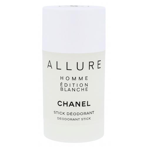 Chanel Allure Homme Edition Blanche 75 ml dezodorant poškodená krabička deostick pre mužov