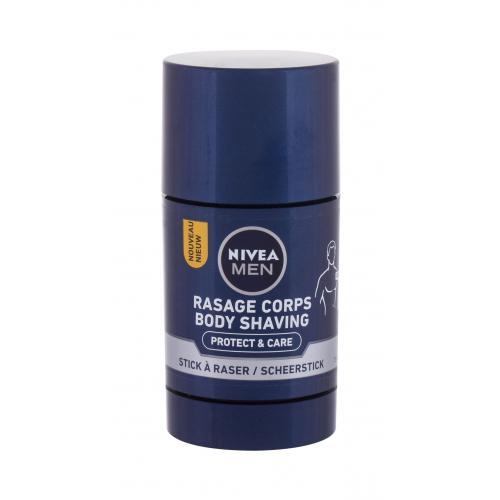 Nivea Men Protect & Care Body Shaving 75 ml mydlo na holenie tela pre mužov
