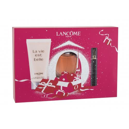 Lancôme La Vie Est Belle darčeková kazeta pre ženy parfumovaná voda 30 ml + telové mlieko 50 ml + riasenka Hypnose Noir Hypnotic 2 ml