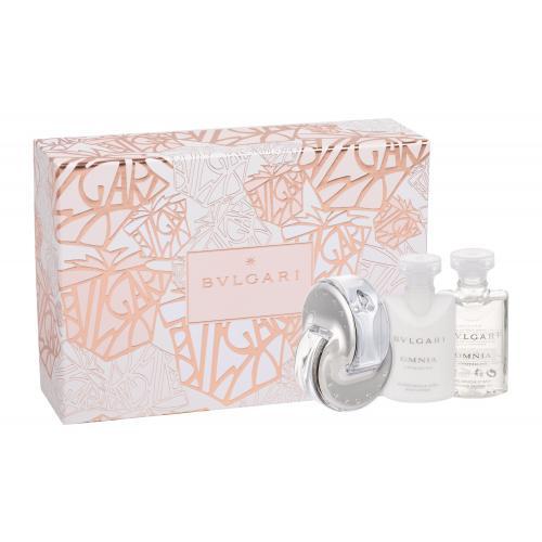 Bvlgari Omnia Crystalline darčeková kazeta pre ženy edt 40ml + 40ml tělové mléko + 40ml sprchový gel