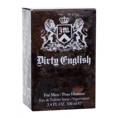 Juicy Couture Dirty English For Men Toaletná voda pre mužov 100 ml
