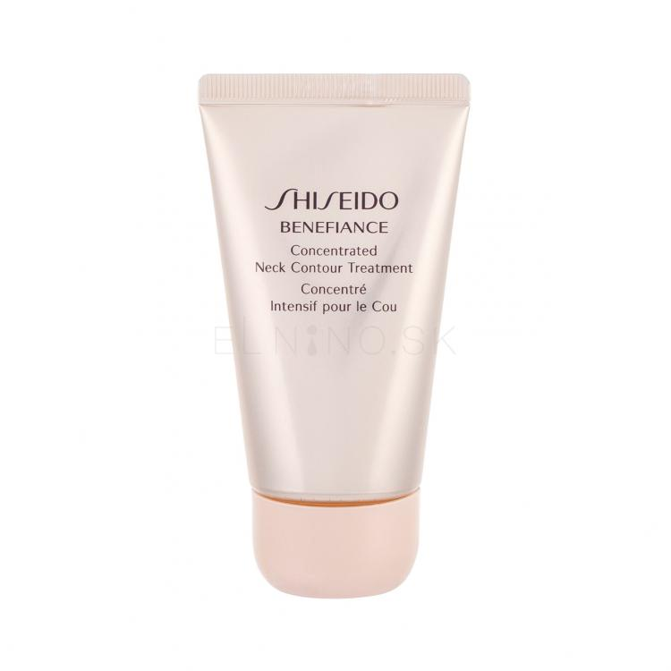 Shiseido Benefiance Concentrated Neck Contour Treatment Krém na krk a dekolt pre ženy 50 ml