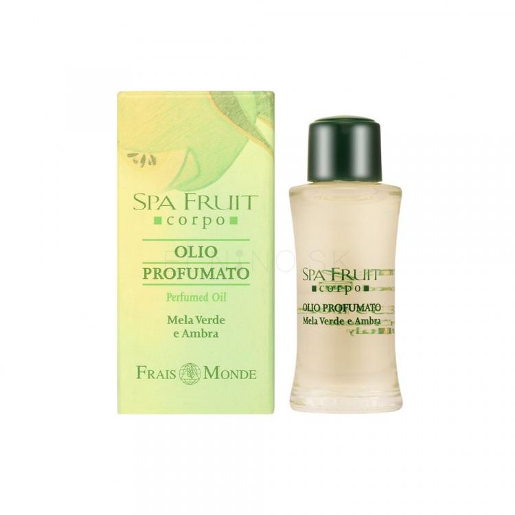 Frais Monde Spa Fruit Green Apple And Amber Parfumovaný olej pre ženy 10 ml