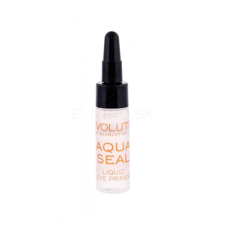 Makeup Revolution London Aqua Seal Liquid Eye Primer & Sealant Podkladová báza pod očné tiene pre ženy 6 g