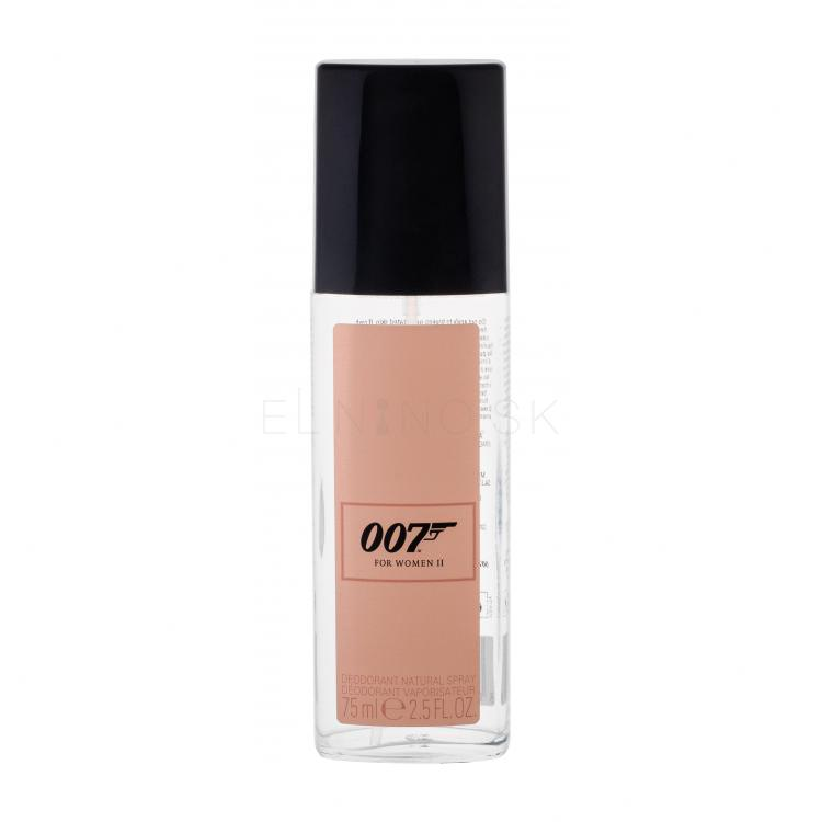 James Bond 007 James Bond 007 For Women II Dezodorant pre ženy 75 ml