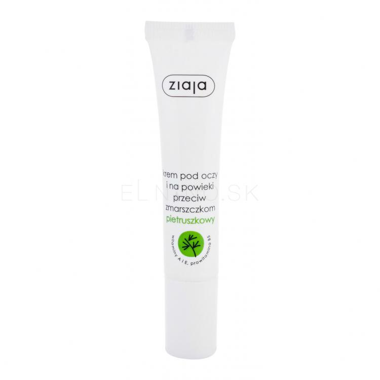 Ziaja Eye Care Parsley Očný krém pre ženy 15 ml