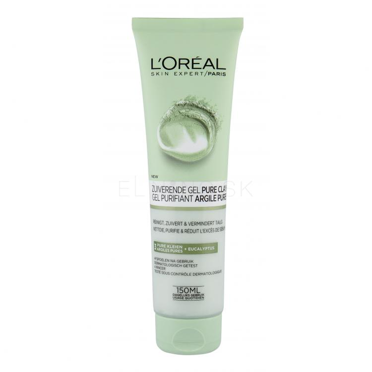 L´Oréal Paris Pure Clay Purity Wash Čistiaci gél pre ženy 150 ml