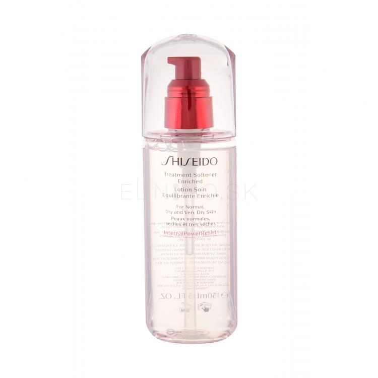 Shiseido Japanese Beauty Secrets Treatment Softener Enriched Pleťová voda a sprej pre ženy 150 ml