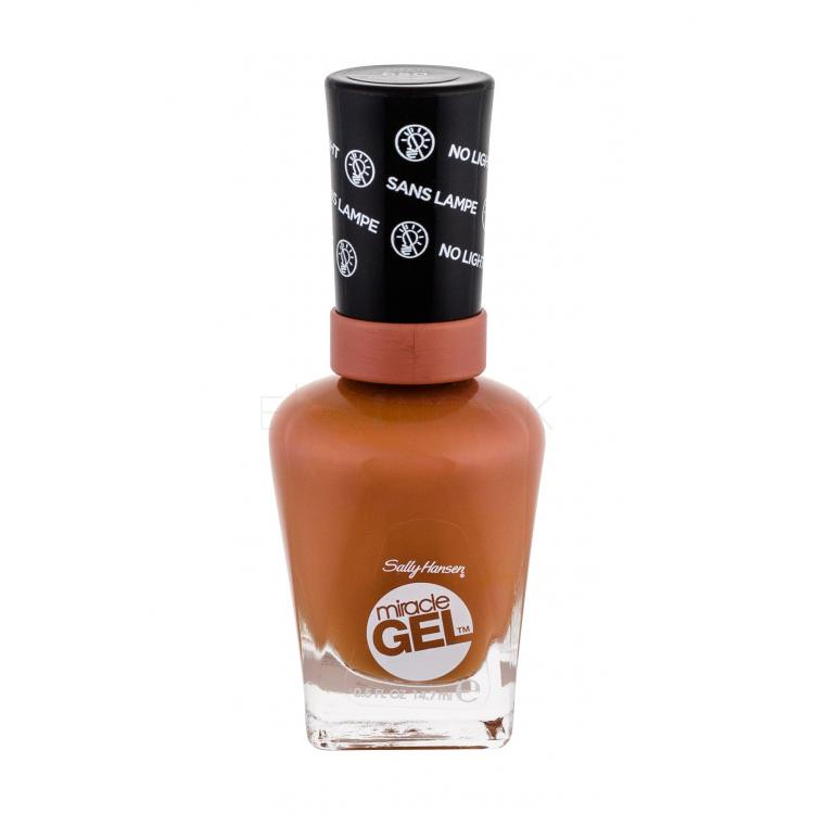 Sally Hansen Miracle Gel STEP1 Lak na nechty pre ženy 14,7 ml Odtieň 650 Per-Suede
