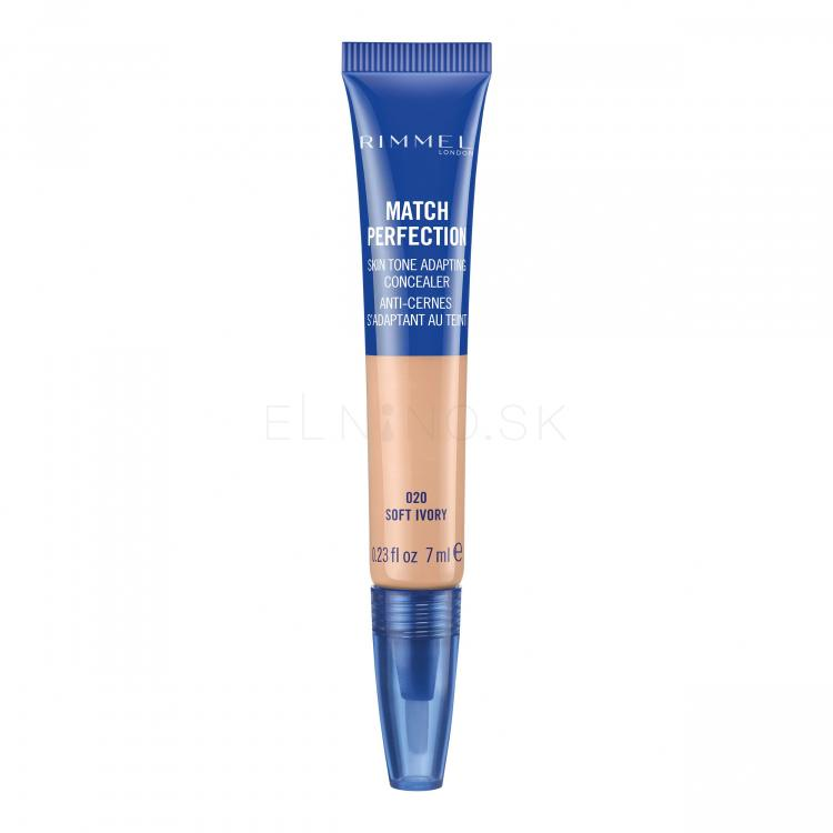 Rimmel London Match Perfection 2in1 Concealer & Highlighter Korektory pre ženy