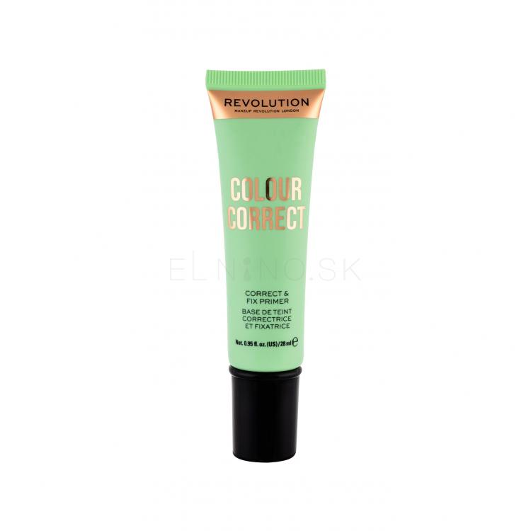 Makeup Revolution London Colour Correct Podklad pod make-up pre ženy 28 ml