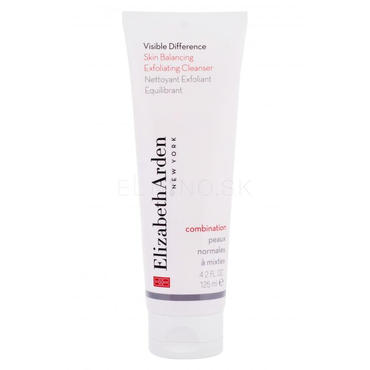 Elizabeth Arden Visible Difference Skin Balancing Cleanser Peelingy pre ženy