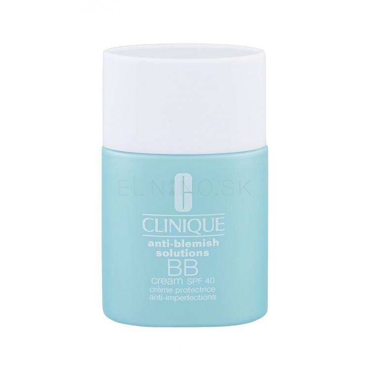 Clinique Anti-Blemish Solutions SPF40 BB krém pre ženy 30 ml Odtieň Light Medium tester