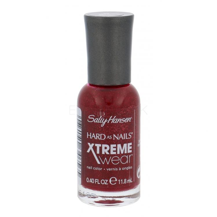 Sally Hansen Hard As Nails Xtreme Wear Lak na nechty pre ženy 11,8 ml Odtieň 390 Red Carpet