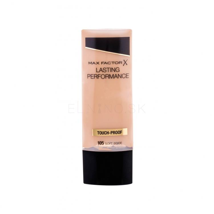 Max Factor Lasting Performance Make-up pre ženy 35 ml Odtieň 105 Soft Beige