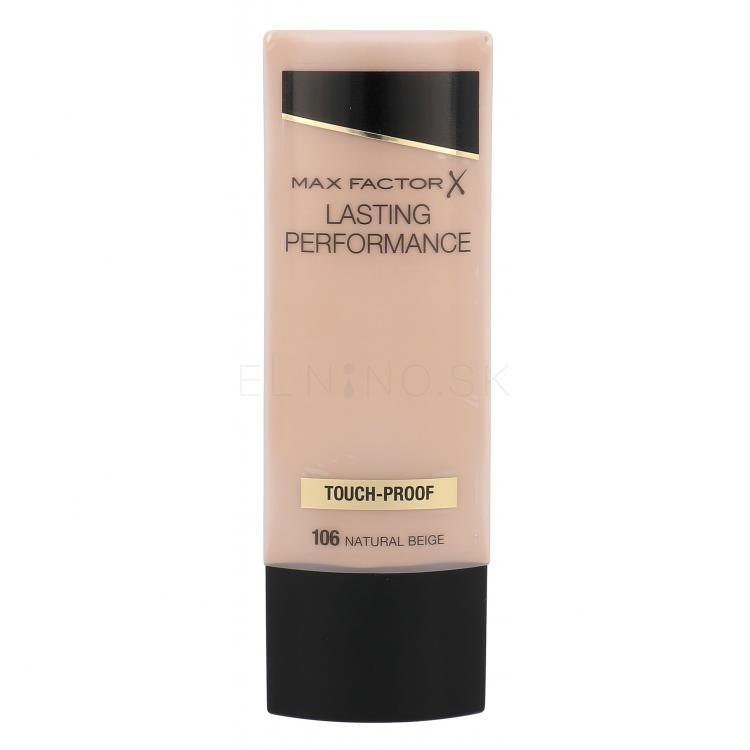 Max Factor Lasting Performance Make-up pre ženy 35 ml Odtieň 106 Natural Beige