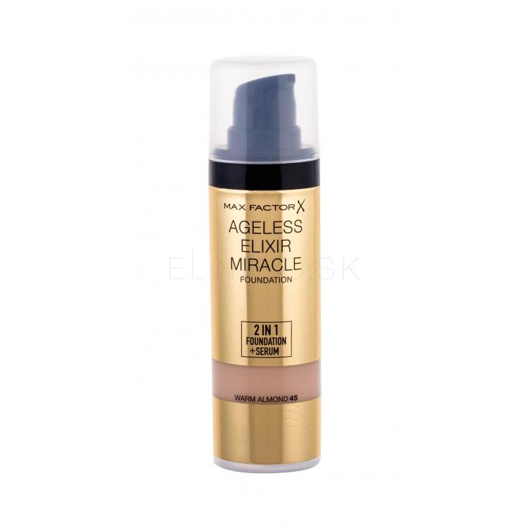 Max Factor Ageless Elixir 2in1 Foundation + Serum Make-upy pre ženy