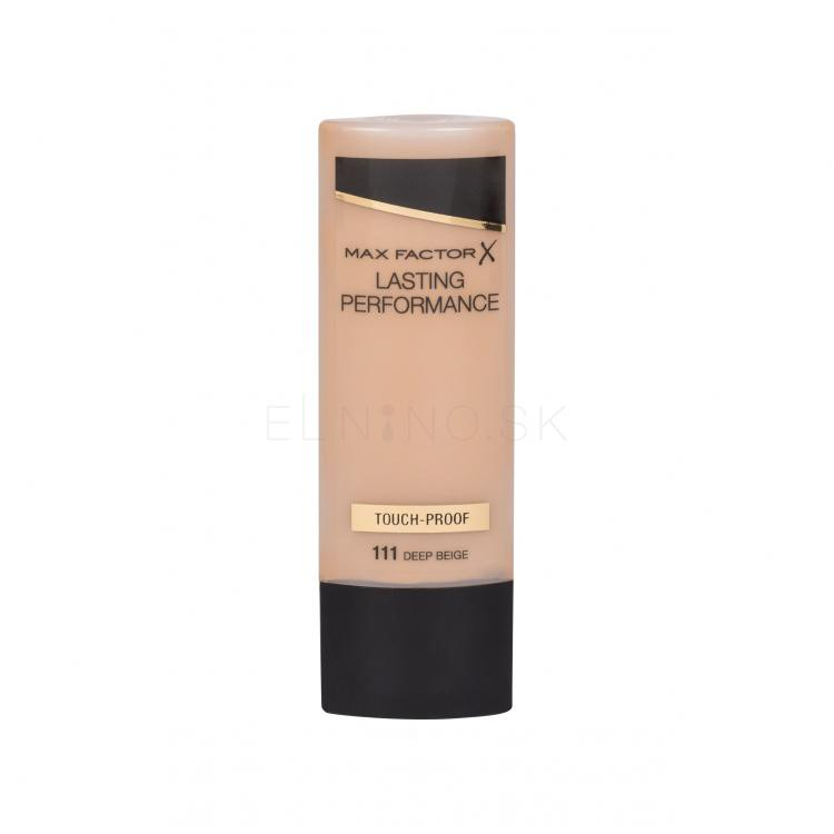 Max Factor Lasting Performance Make-up pre ženy 35 ml Odtieň 111 Deep Beige