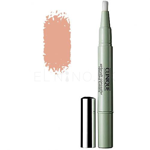 Clinique Airbrush Illuminates Korektor pre ženy 1,5 ml Odtieň 02 Medium tester