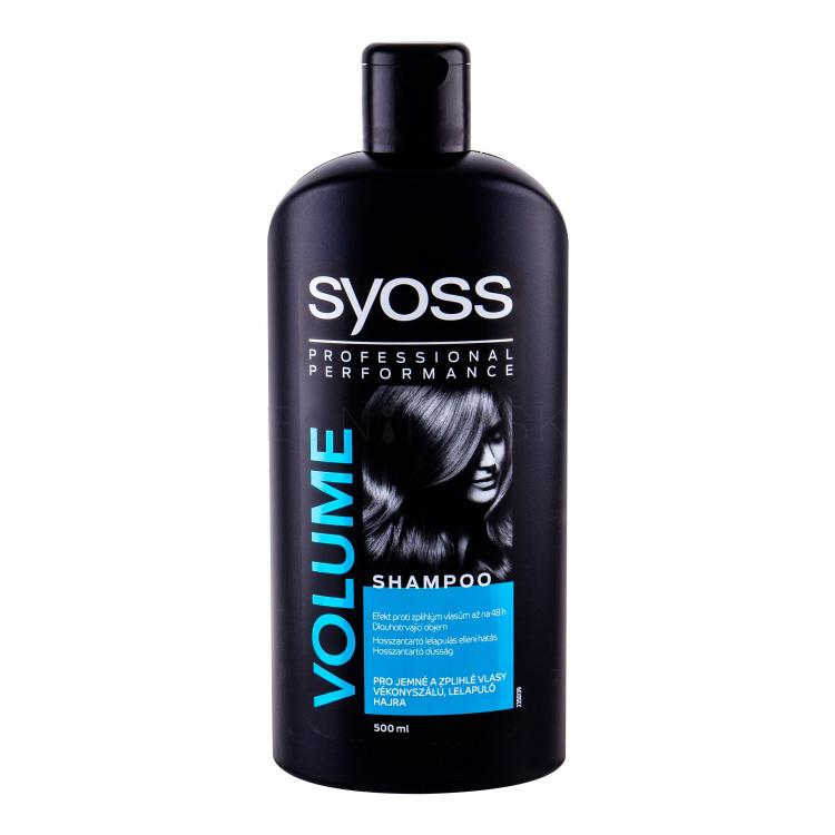 Syoss Professional Performance Volume Šampón pre ženy 500 ml
