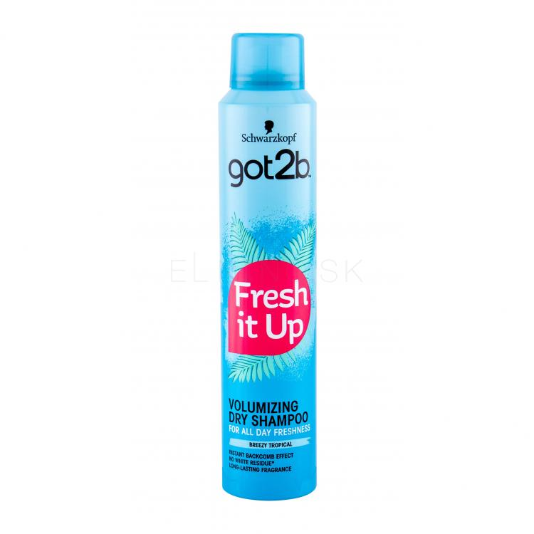 Schwarzkopf Got2b Fresh It Up Volumizing Suchý šampón pre ženy 200 ml