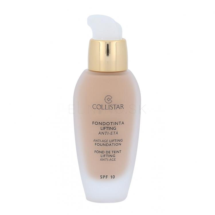 Collistar Anti-Age Lifting Foundation SPF10 Make-up pre ženy 30 ml Odtieň 3 Cappuccino