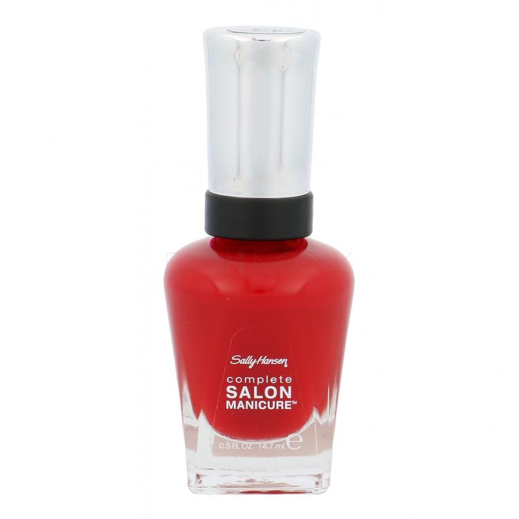 Sally Hansen Complete Salon Manicure Lak na nechty pre ženy 14,7 ml Odtieň 570 Right Said Red