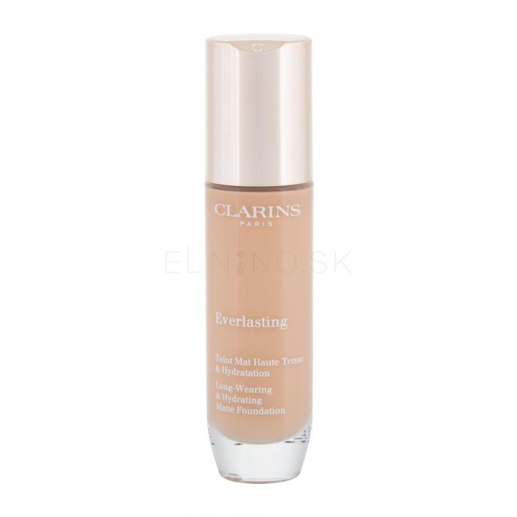 Clarins Everlasting Foundation Make-up pre ženy 30 ml Odtieň 108,5W Cashew