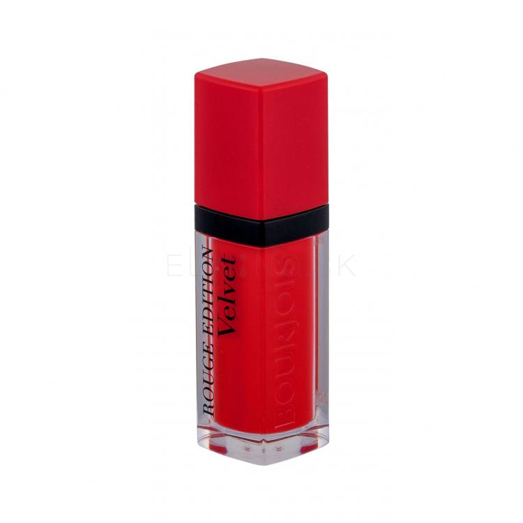 BOURJOIS Paris Rouge Edition Velvet Rúž pre ženy 7,7 ml Odtieň 03 Hot Pepper
