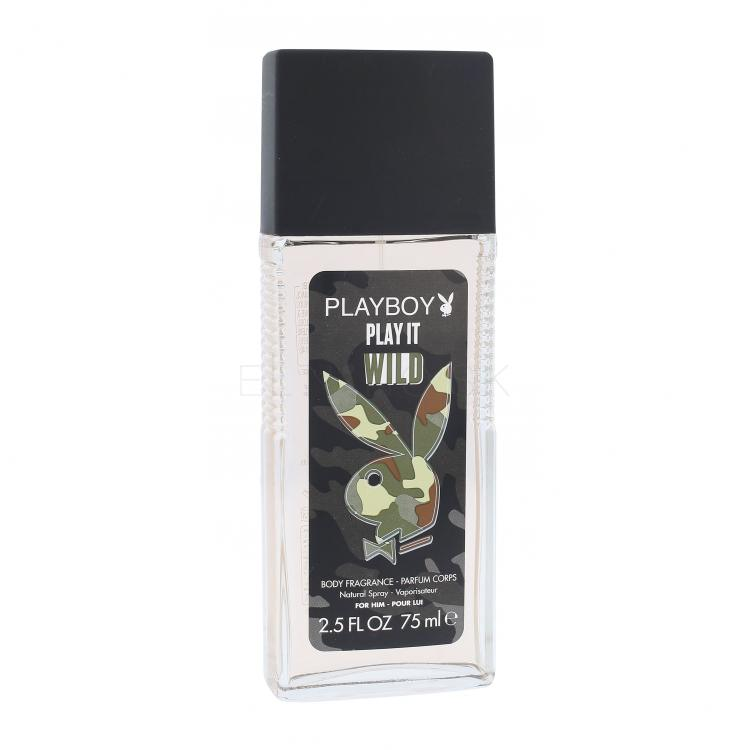 Playboy Play It Wild For Him Dezodorant pre mužov 75 ml