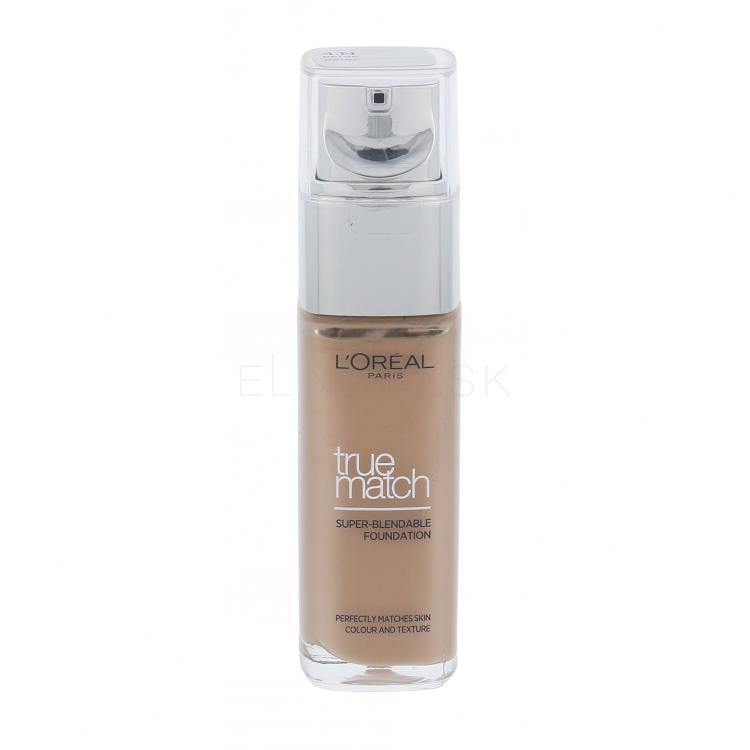 L´Oréal Paris True Match Make-up pre ženy 30 ml Odtieň N4 Beige