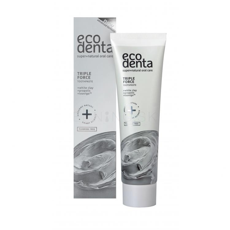 Ecodenta Toothpaste Triple Effect Zubná pasta 100 ml