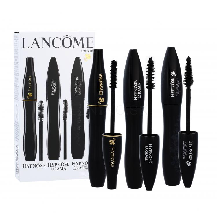 Lancôme Hypnôse Darčeková kazeta pre ženy riasenka 6,2 ml + riasenka Mascara Hypnose Drama 6,5 ml 01 Excessive Black + riasenka Mascara Hypnose Doll Eyes 6,5 ml 01 So Black