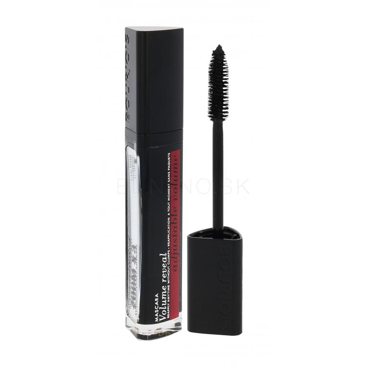 BOURJOIS Paris Volume Reveal Adjustable Volume Riasenka pre ženy 6 ml Odtieň 31 Black